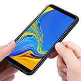 Чохол накладка Primo Cenmaso для Samsung Galaxy A7 2018 ( SM-A750 ) - Black&Red, фото 2