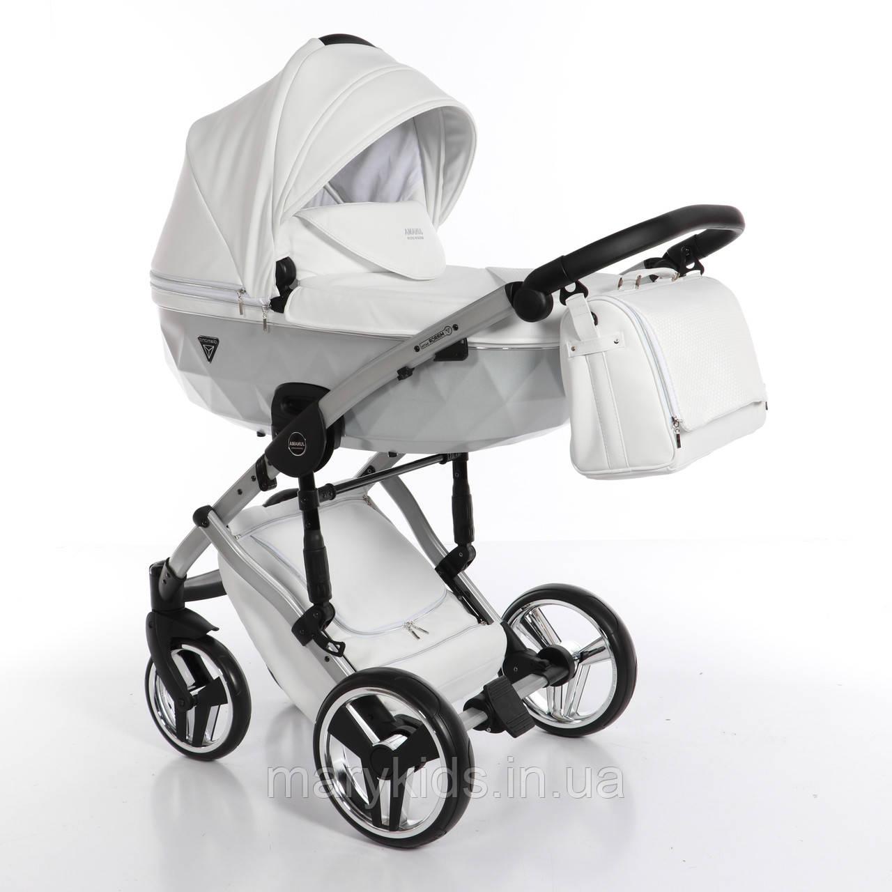 Детская универсальная коляска 2 в 1 Junama Mirror Satin 04