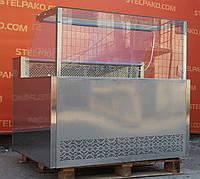 Холодильная витрина охлаждаемая «Айстермо ВХСК 1.3 м.» (Украина), малый срок эксплуатации, Б/у, фото 1