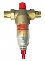 """Механический фильтр (90 мкм) с ручной промывкой  EUROPAFILTER RS (RF) 1¼"""""""