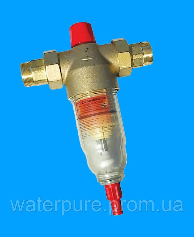 механические фильтры грубой очистки воды