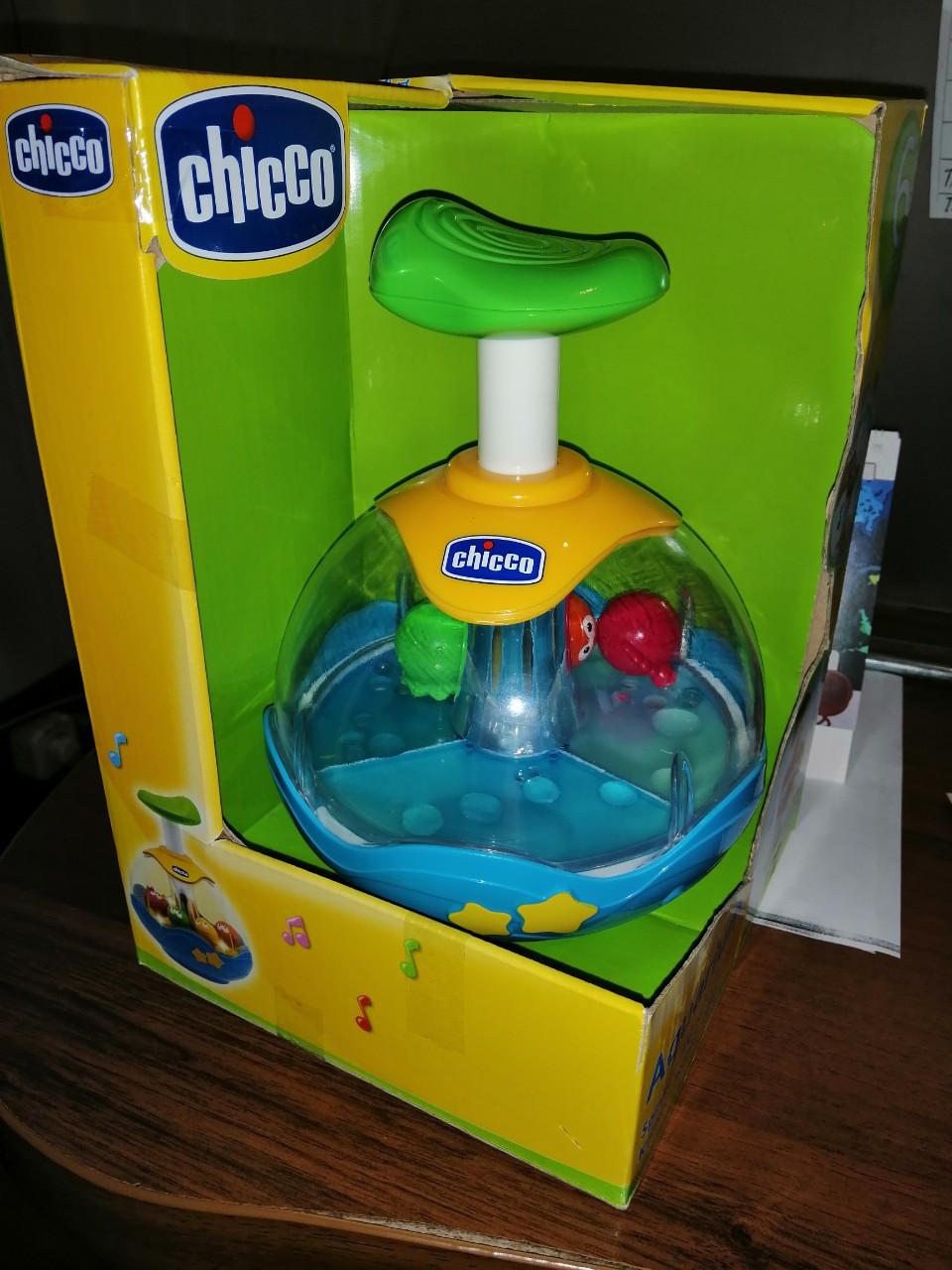 """Игрушка для малышейChicco 68329 """"Юла аквариум"""", фото 5"""
