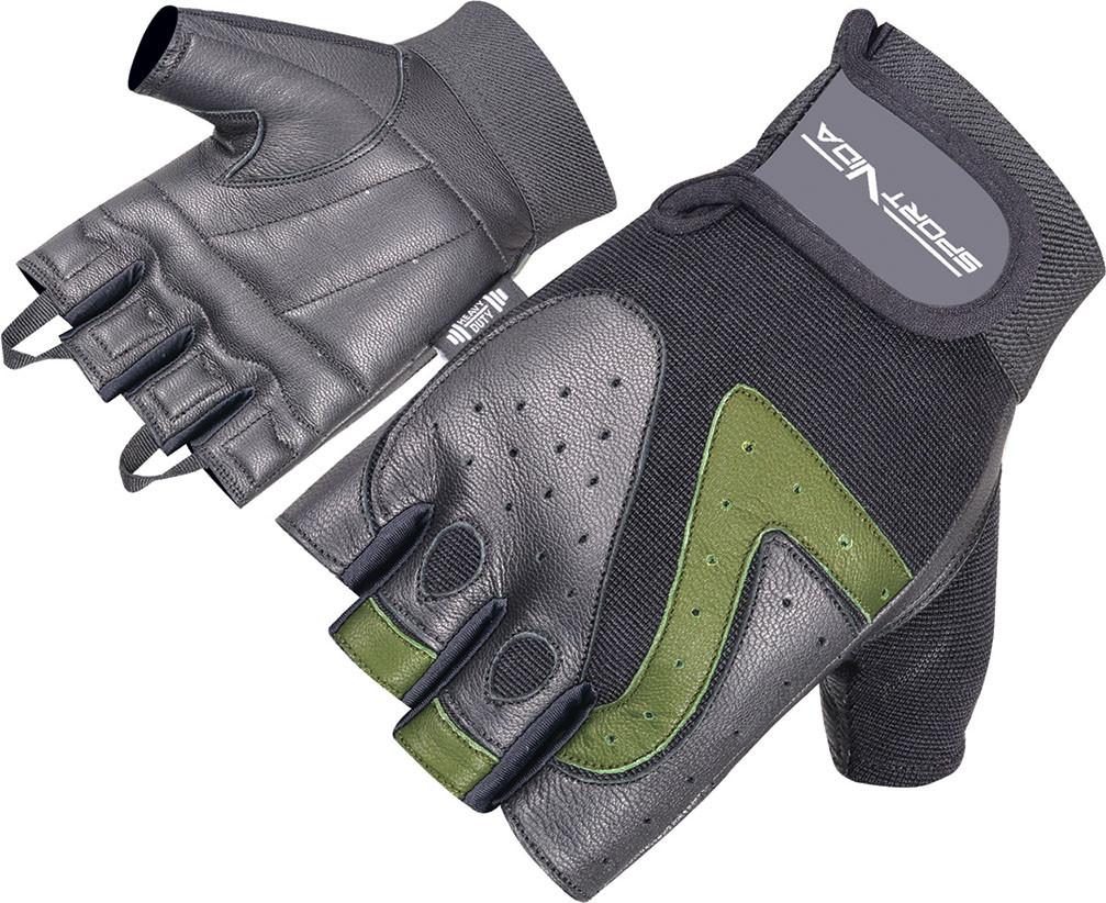 Перчатки для фитнеса SportVida SV-AG00020 (XXL) Black
