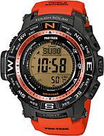 Мужские часы CASIO PRO TREK PRW-3500Y-4ER оригинал
