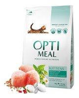 Сухой корм OptiMeal для котят с курицей, 4 кг