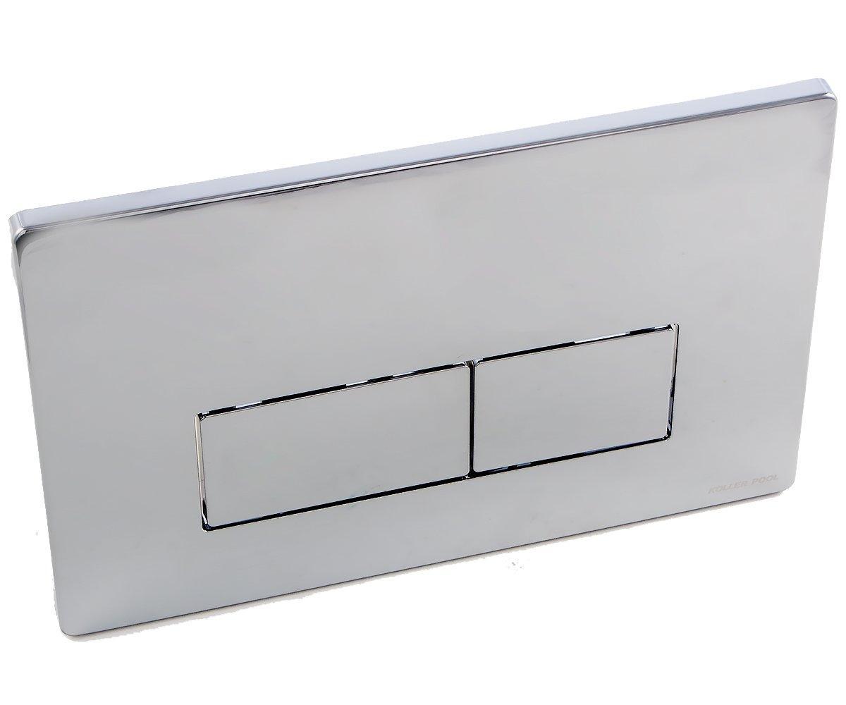 Клавиша двойного смыва для фронтальной установки KOLLER POOL INTEGRO INTEGRO CHROME