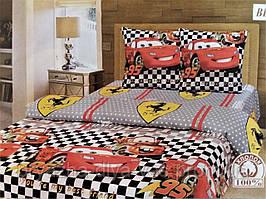 Комплект постельного белья Тиротекс Бязь Тачки Полуторный 144х215