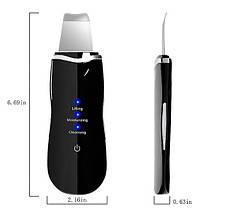 Портативный ультразвуковой скрабер Ultrasonic Shovel Beauty Start Черный, фото 2