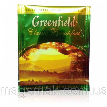Чай Greenfield Classic Breakfast (HoReCa), 100 пакетов, фото 2