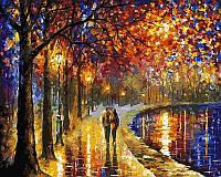 Картина раскраска по номерам Пара у озера 50х40 см