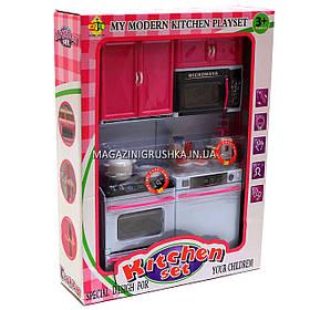 Кухня детская для кукол «Kitchen set» (свет, звук) 24х7х32 см (6610-11)
