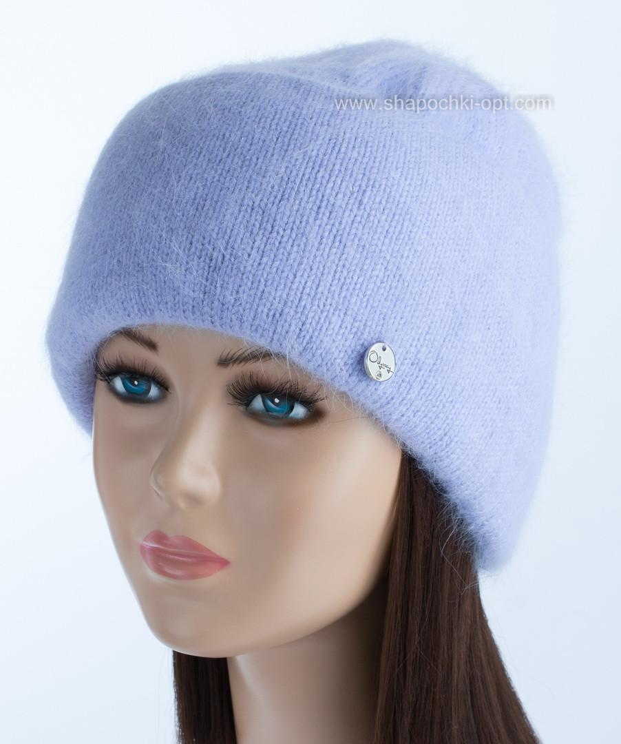 Зимняя женская шапочка Vanila цвет лаванда