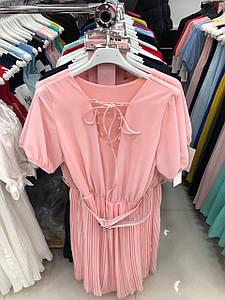 Лёгкое женское шифоновое платье