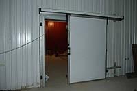 Двери для холодильных камер откатные