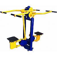 Тренажер для тяги блоку зверху вуличний на спортивний майданчик
