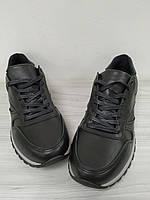 Кроссовки кожаные черные мужские MANTE!!! Акция!!! -40%!!!, фото 1