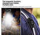 Мега мощный налобный фонарь Boruit B50 Магнит XM-L2 + 4  XP-G2, фото 4
