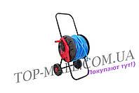 Катушка для шланга Intertool - до 60 м, на колесах