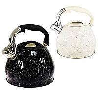 Чайник со свистком 3.0 л. EDENBERG EB-1904