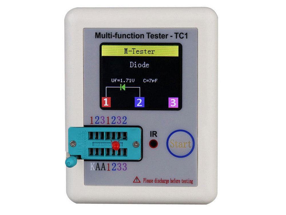Тестер радиокомпонентов LCR-TC1, Измеритель ESR LCR, ATmega324PA, аккумулятор 450mAh