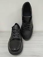 Кроссовки кожаные черные мужские MANTE Акция!!! -40%!!!, фото 1