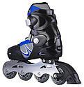 Роликовые коньки Nils Extreme PW-130C Size 32-35 Blue, фото 3