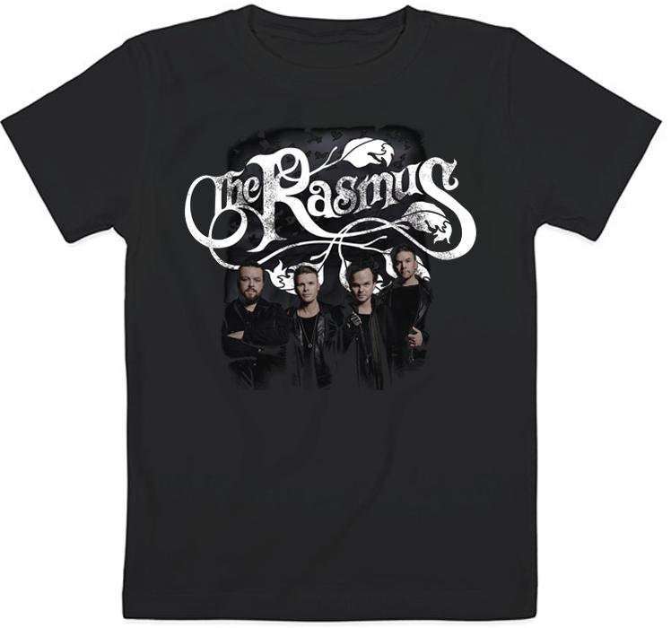 Детская футболка The Rasmus - Logo + Band (чёрная)