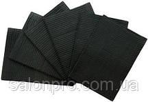 Салфетки стоматологические Medicom Dry-Back, 50 шт., цвет черный