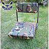 Поворотне сидіння Dream Hunter для човни ПВХ на сидіння 20 см, ПОСИЛЕНИЙ сталевий механізм, фото 5