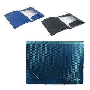 Папка на резинках A4 бриллиант ассорти E31601-02