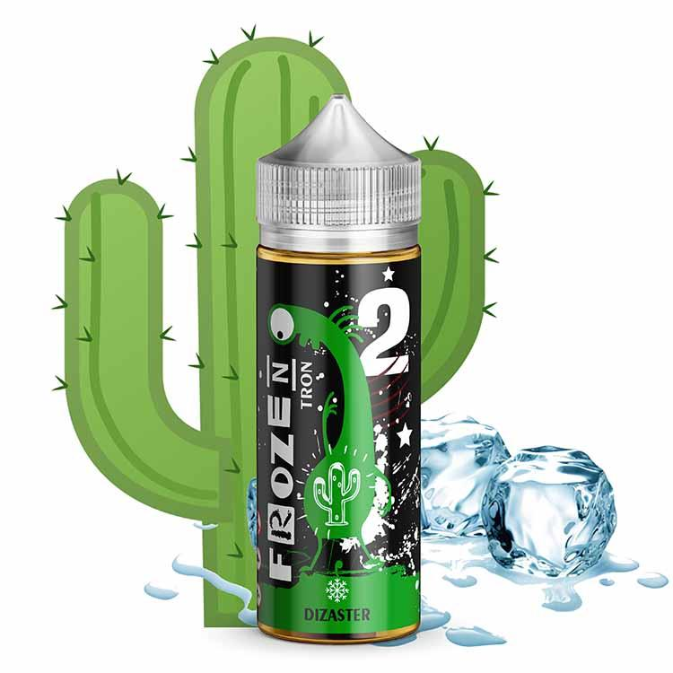 Frozen Tron 2 120 мл Dizaster, 0 мг Жидкость для Электронных сигарет (Заправка для вейпа)