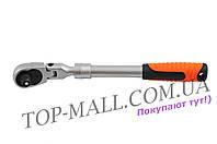 "Рукоятка с храповым механизмом Miol - 1/2"" х 72T, телескоп"