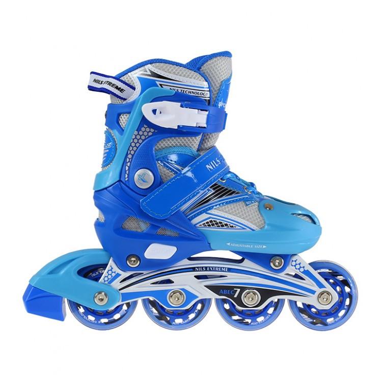 Роликовые коньки Nils Extreme NA0326A Size 34-37 Blue