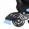 Роликовые коньки Nils Extreme NJ1828A Size 31-34 Black, фото 2