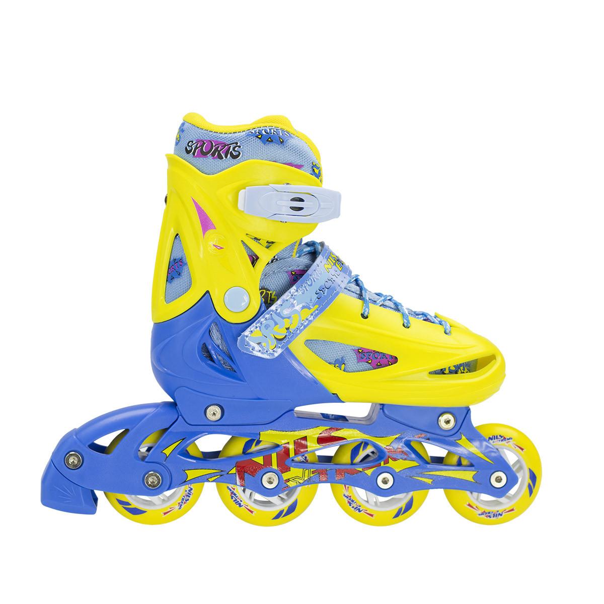 Роликовые коньки Nils Extreme NJ1905A Size 27-30 Yellow