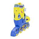 Роликовые коньки Nils Extreme NJ1905A Size 27-30 Yellow, фото 7