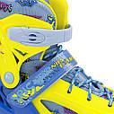 Роликовые коньки Nils Extreme NJ1905A Size 31-34 Yellow, фото 3