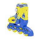 Роликовые коньки Nils Extreme NJ1905A Size 35-38 Yellow, фото 8