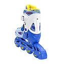 Роликовые коньки Nils Extreme NJ1905A Size 31-34 Blue, фото 4