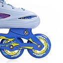 Роликовые коньки Nils Extreme NJ1905A Size 31-34 Blue, фото 5
