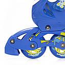 Роликовые коньки Nils Extreme NJ1905A Size 31-34 Blue, фото 6