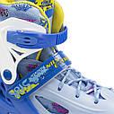 Роликовые коньки Nils Extreme NJ1905A Size 31-34 Blue, фото 7