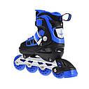 Роликовые коньки Nils Extreme NA0328A Size 34-37 Black/Blue, фото 6