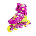 Роликовые коньки Nils Extreme NA1005A Size 31-34 Pink, фото 2