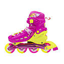 Роликовые коньки Nils Extreme NA1005A Size 31-34 Pink, фото 6