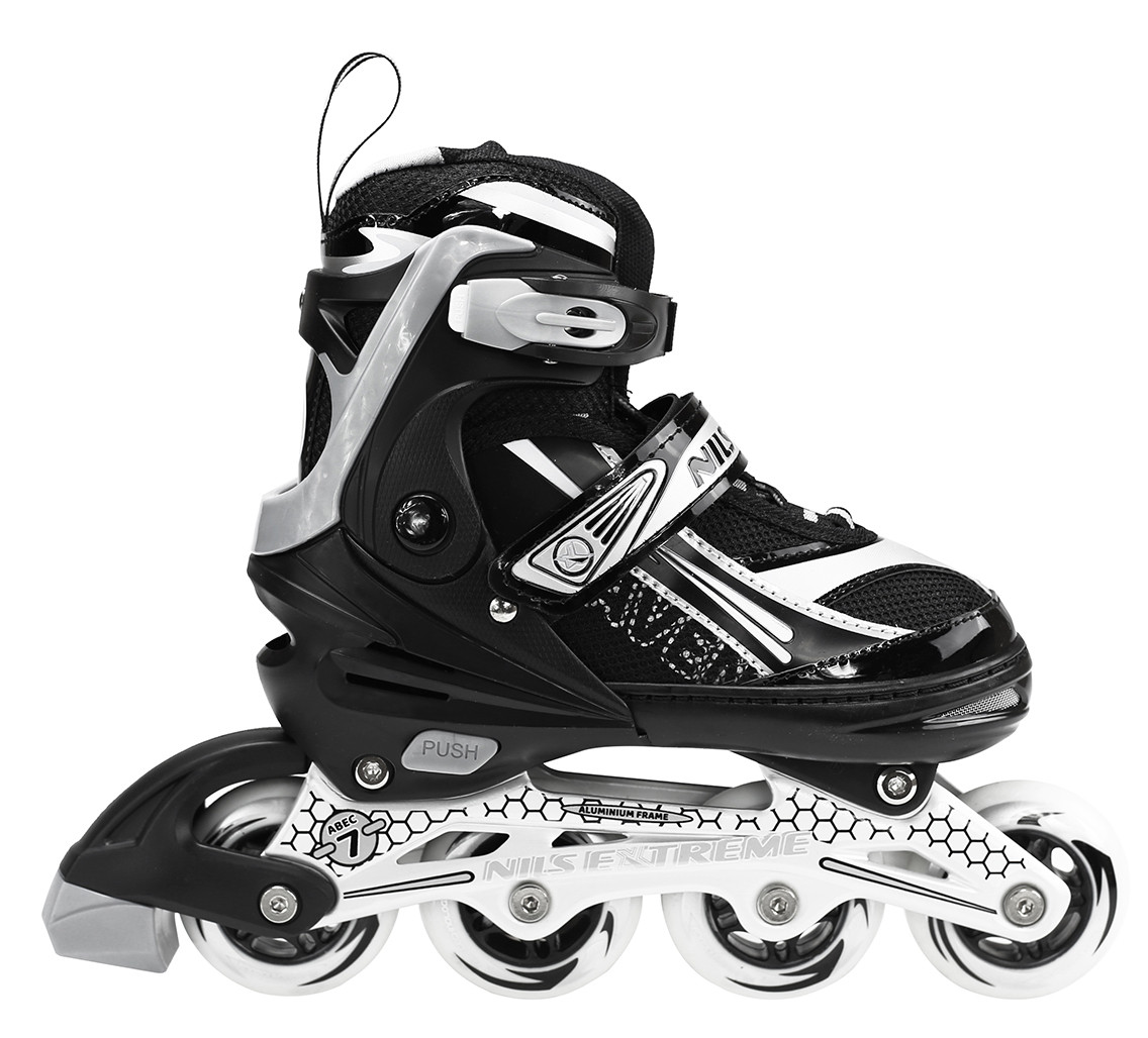 Роликовые коньки Nils Extreme NA1123A Size 35-38 Black
