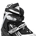 Роликовые коньки Nils Extreme NA1123A Size 35-38 Black, фото 3