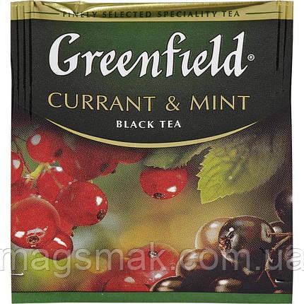 Чай Greenfield Currant & Mint (HoReCa), 100 пакетов, фото 2