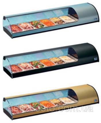 Витрина холодильная настольная ColdMaster TAPAS 4 GN, фото 2