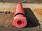 Коврик для фитнеса детский 1400х500х5мм, красный, фото 2